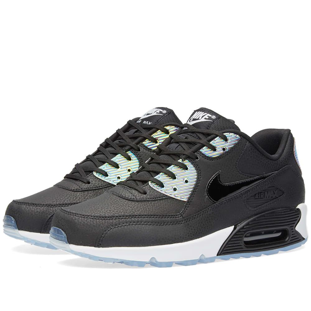 cheap for discount 8930b d31af Nike W Air Max 90 Premium Black   Pure Platinum   END.