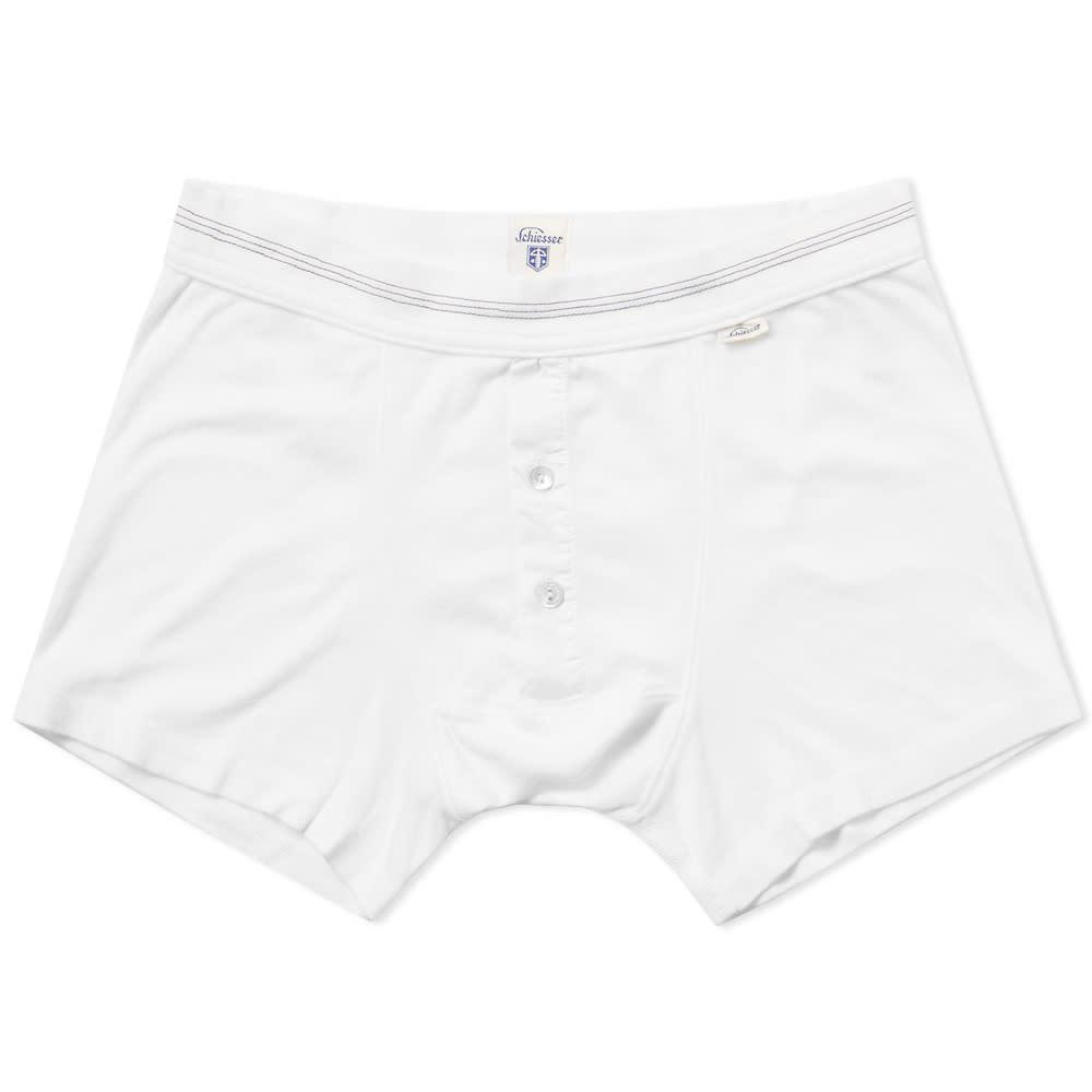 SCHIESSER Schiesser Karl-Heinz Boxer Short in White