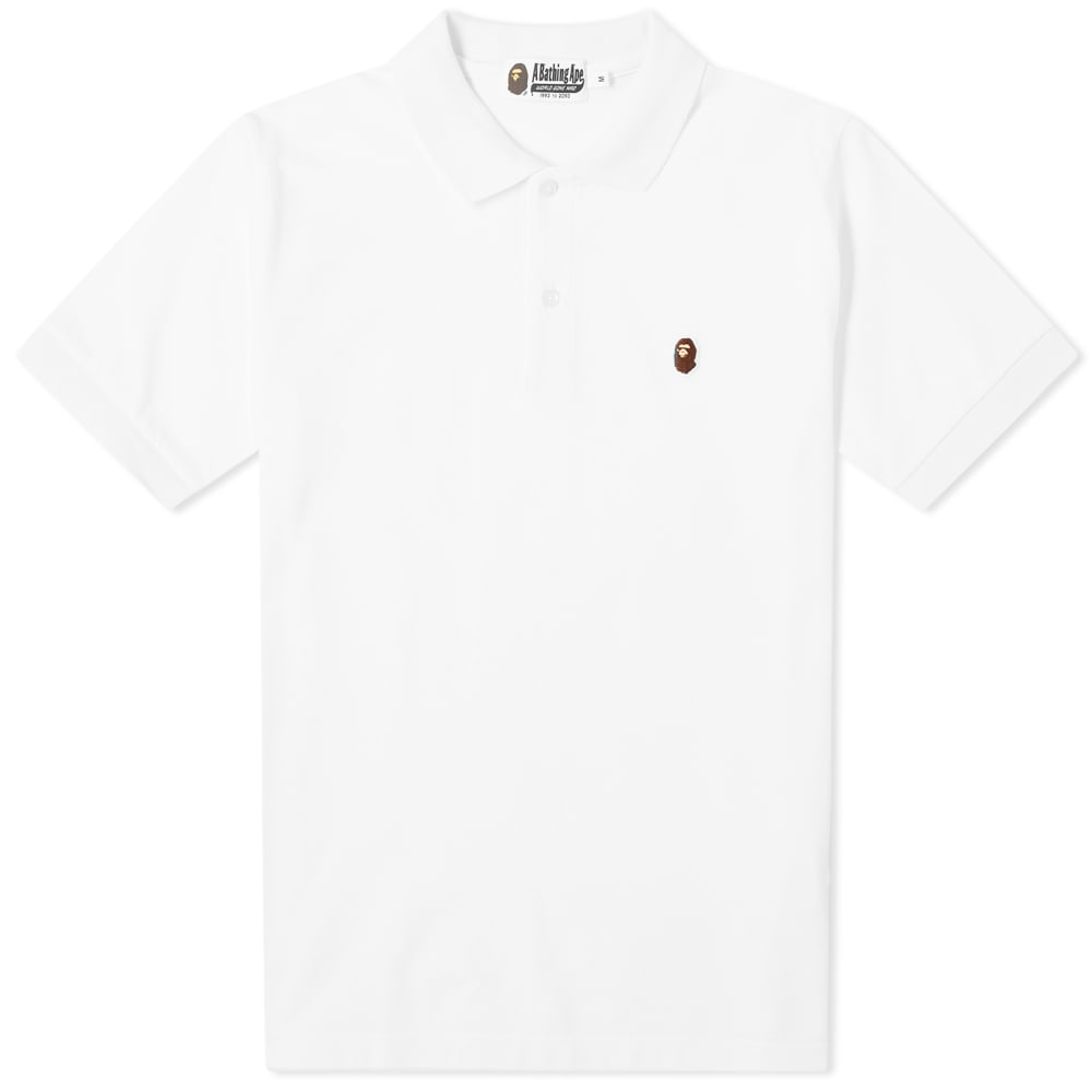 bathing ape shirt white