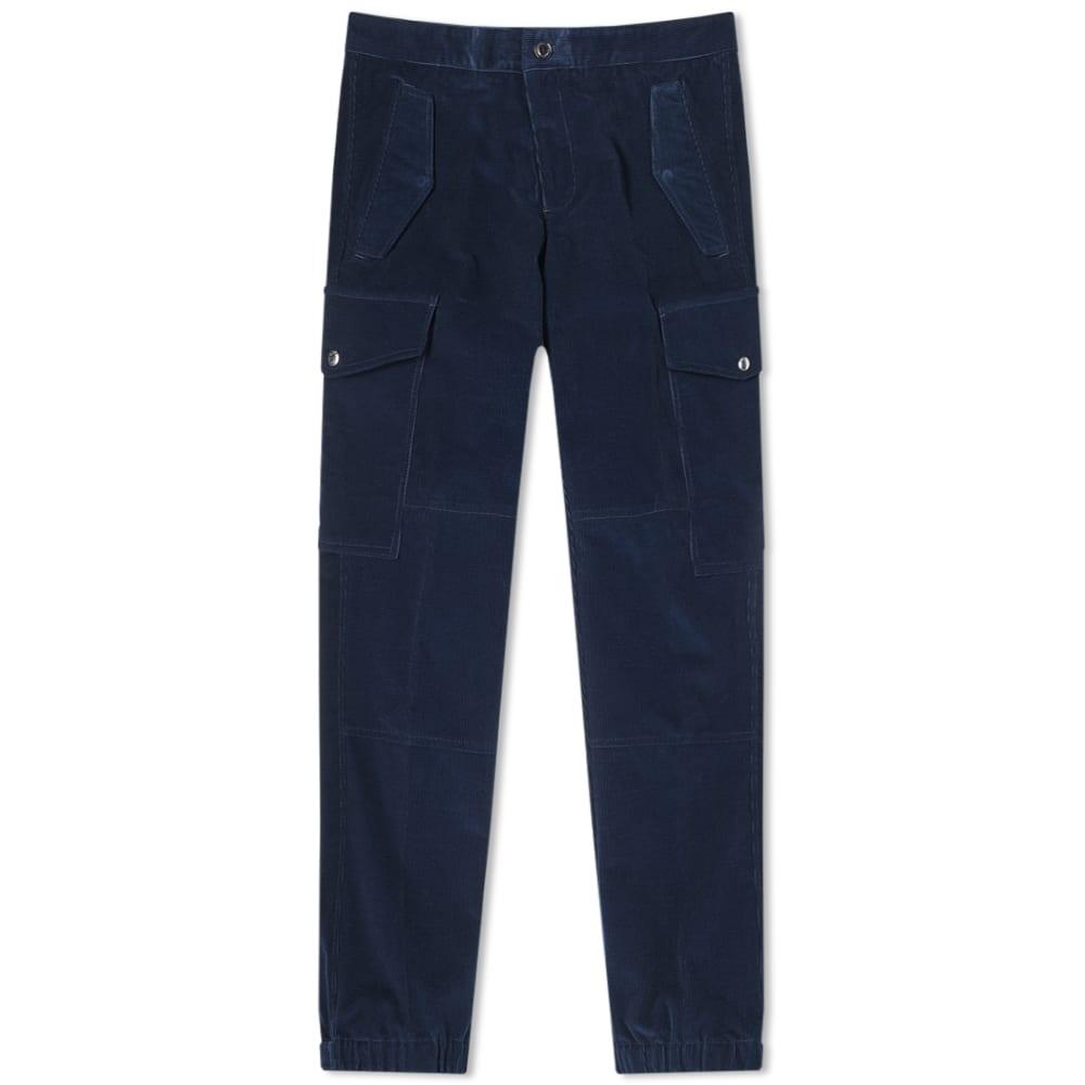 Moncler Genius - 2 Moncler 1952 - Corduroy Cargo Pant In Blue