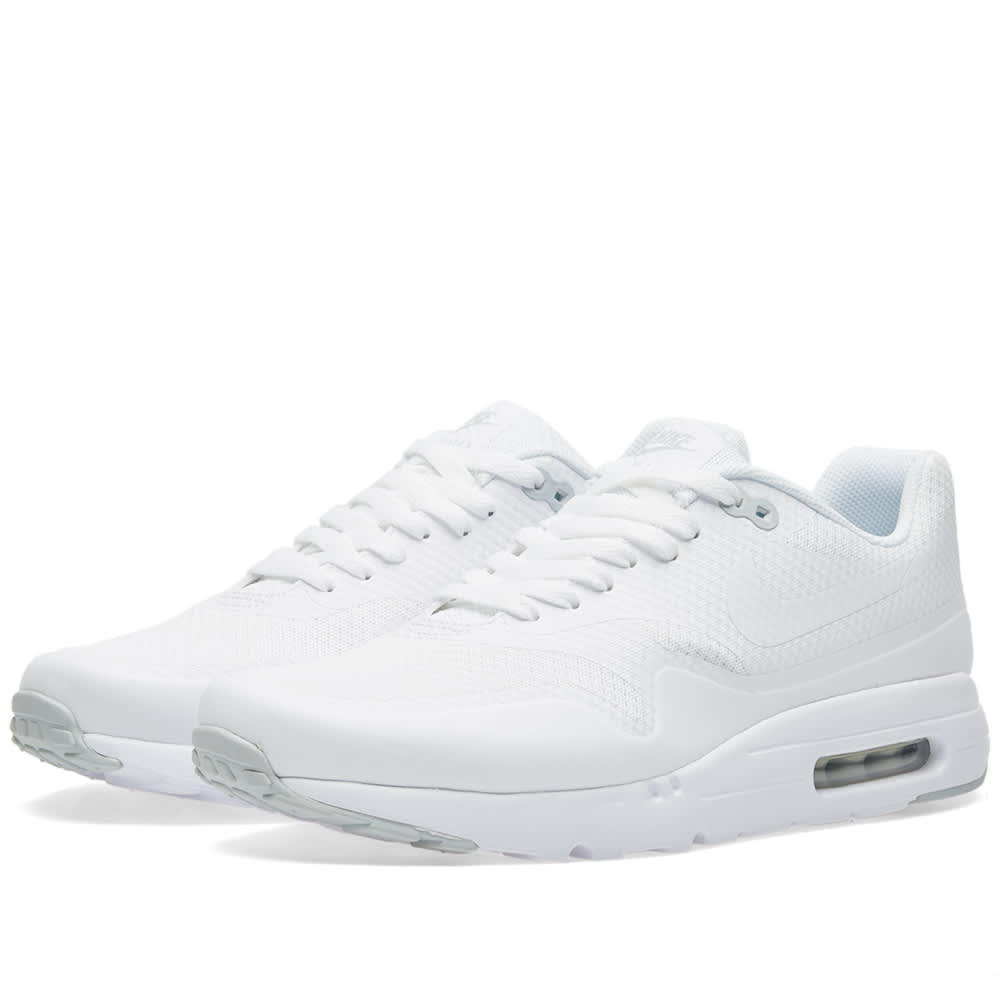 separation shoes a239f 2b5ce Nike Air Max 1 Ultra Essential White   Pure Platinum   END.