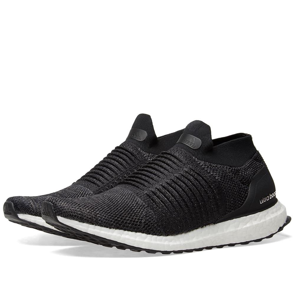 668ddf09bd078 Adidas Ultra Boost Laceless W Core Black