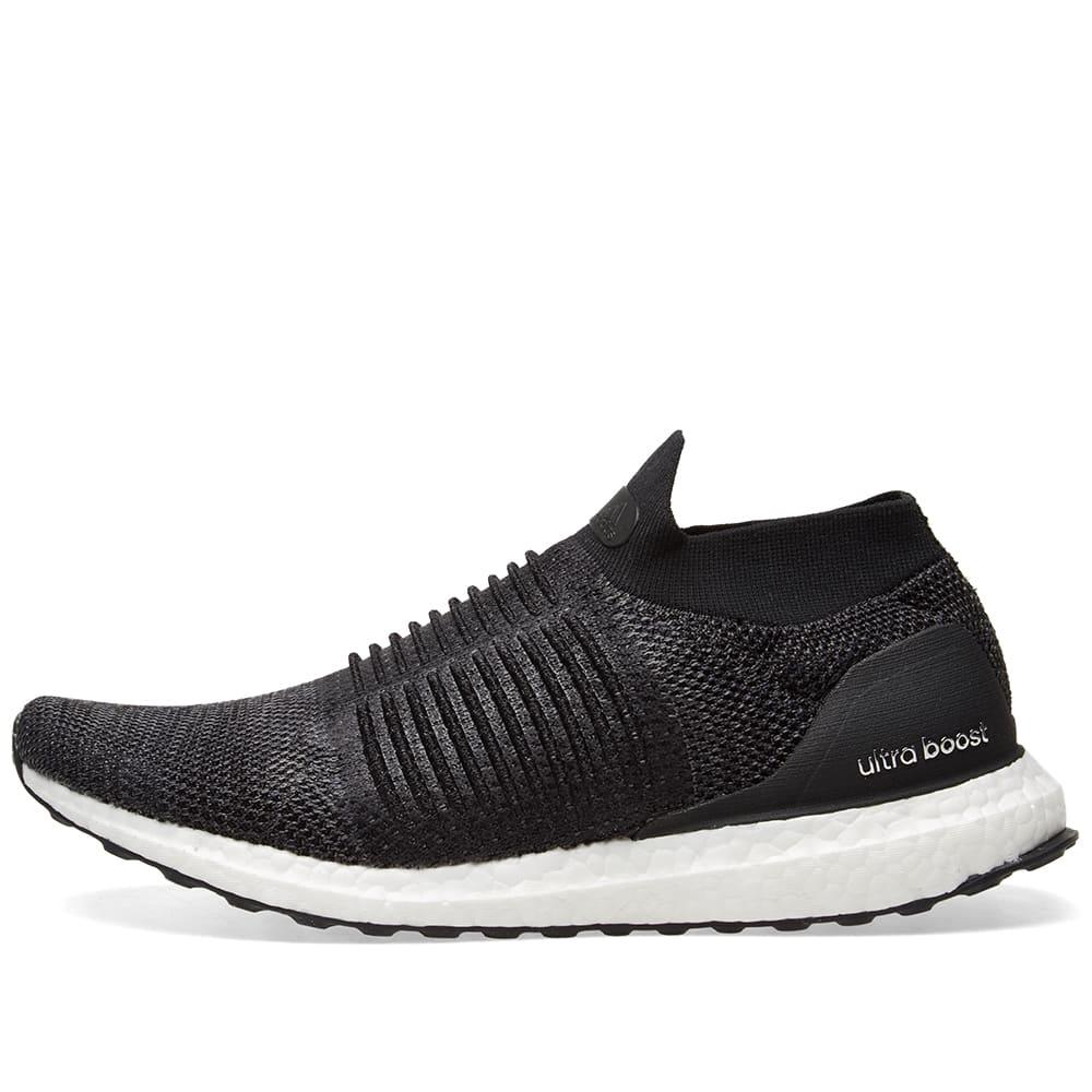 7342d30c6e971 Adidas Ultra Boost Laceless W Core Black