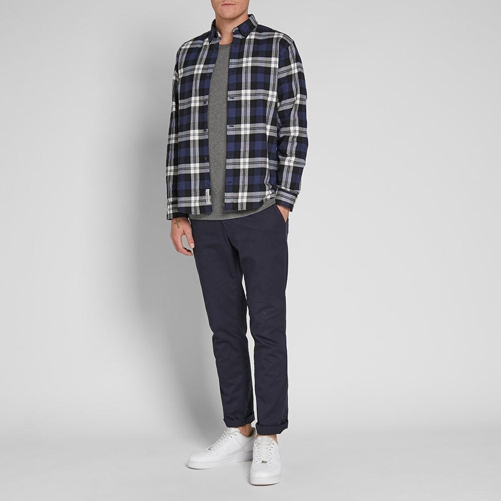 Carhartt Wip Lessing Shirt Lessing Check Blue End