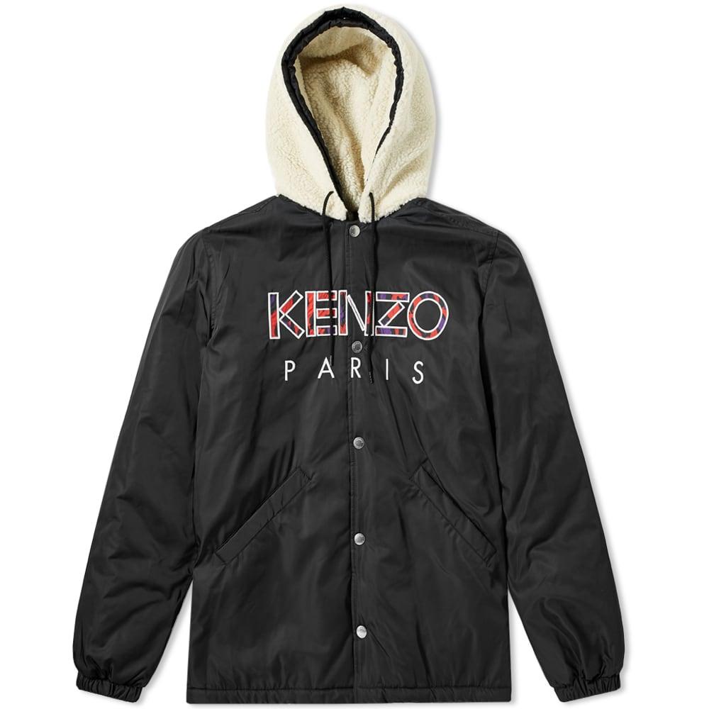 cc64bc7a Kenzo Paris Sherpa Hooded Jacket