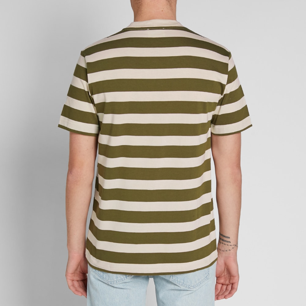 2d9d439306 Norse Projects Johannes Rugby Stripe Tee Sitka Green | END.