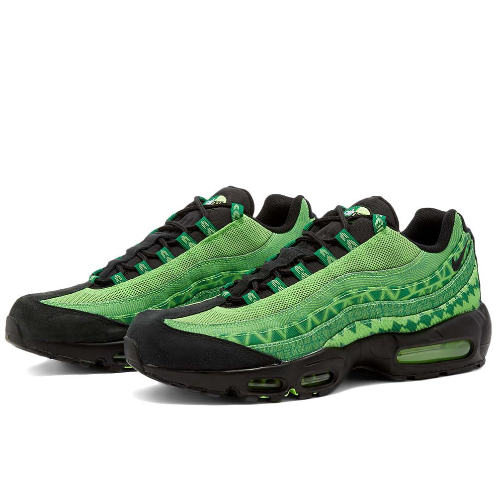 Nike Air Max 95 Nigeria Green, Black