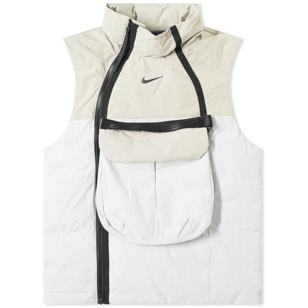 Nike Tech Pack Utility Vest Light Bone Stone Black End