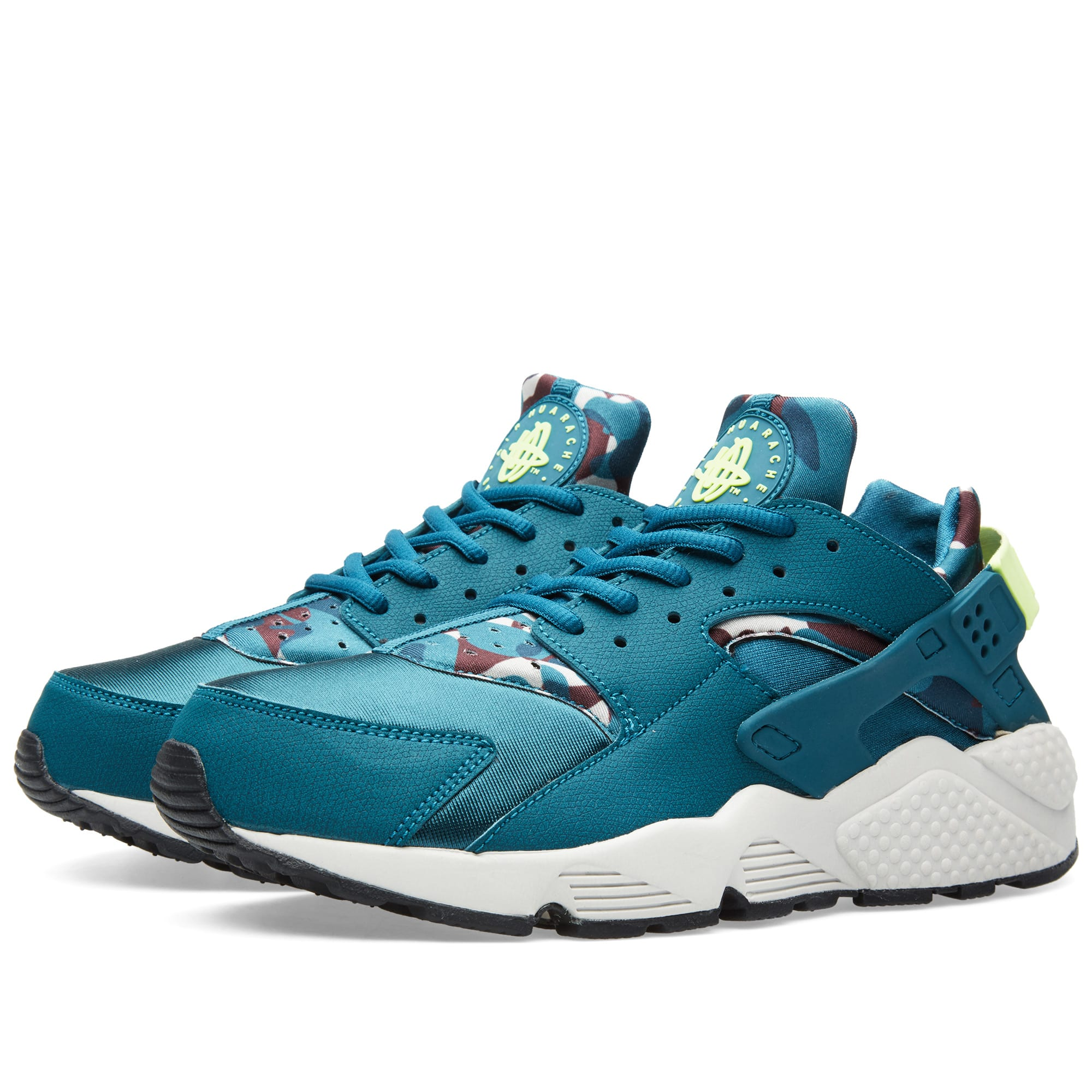 49ffd1b39babc Nike W Air Huarache Run Print Teal   Ghost Green