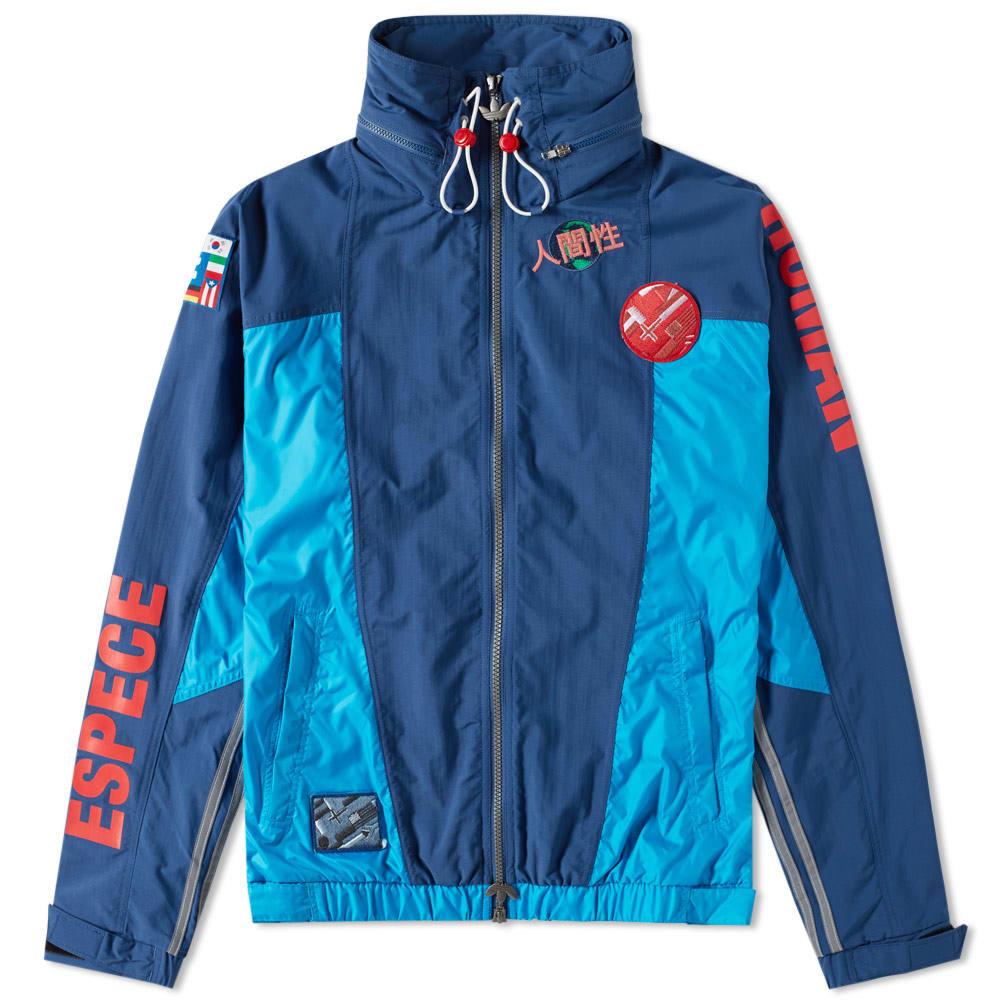 f585176b7 Adidas x Pharrell Williams Human Race Windbreaker Blue