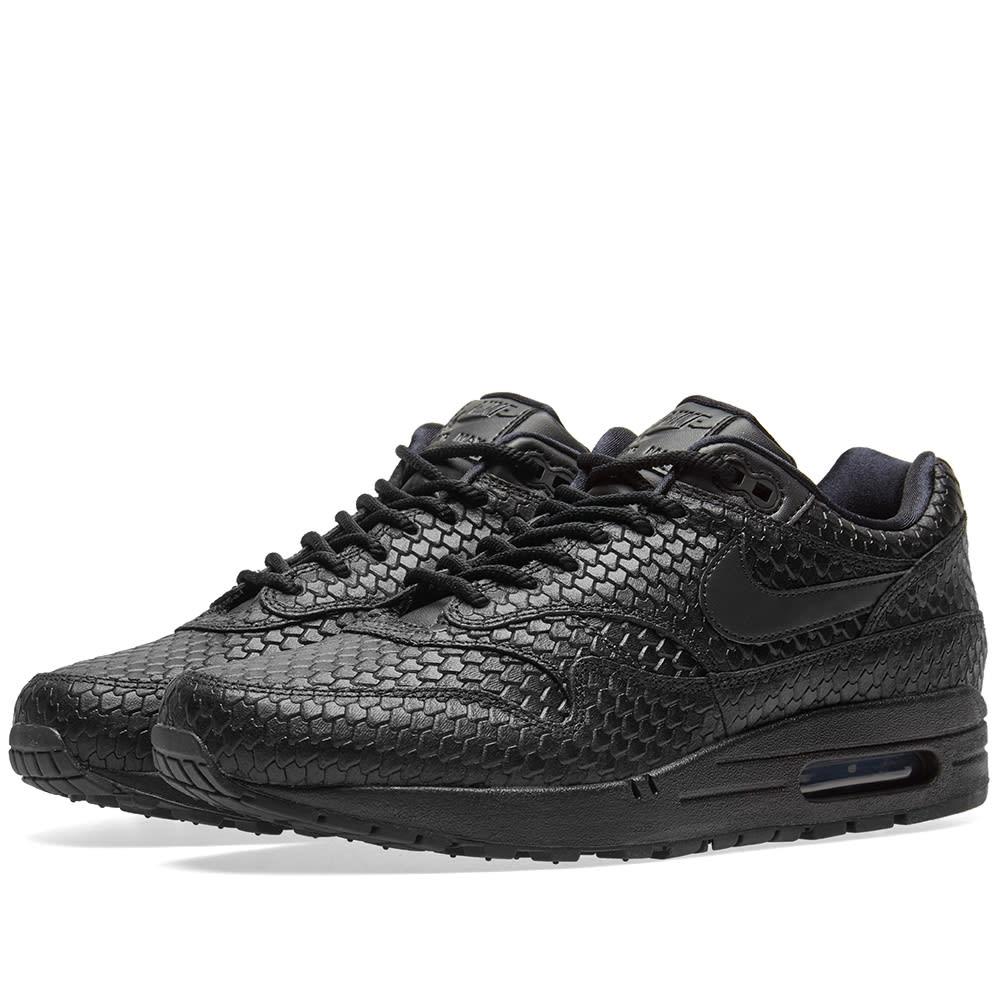 official photos dd72c 62614 Nike Air Max 1 Premium W Black   Anthracite   END.