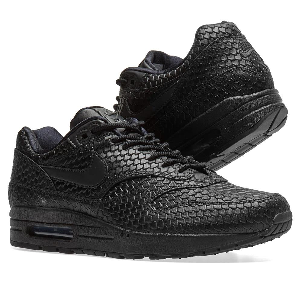 best service 2f106 882d8 Nike Air Max 1 Premium W. Black   Anthracite