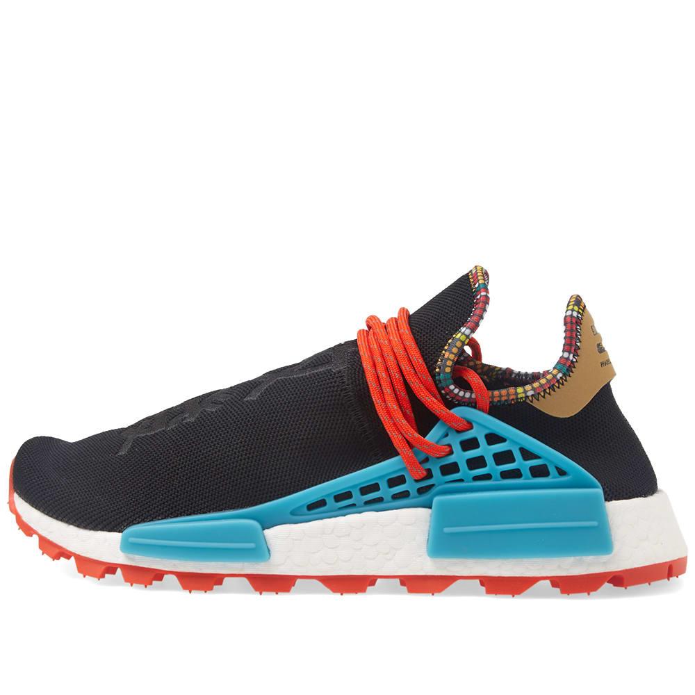 1738726a277be Adidas by Pharrell Williams SOLARHU NMD Core Black