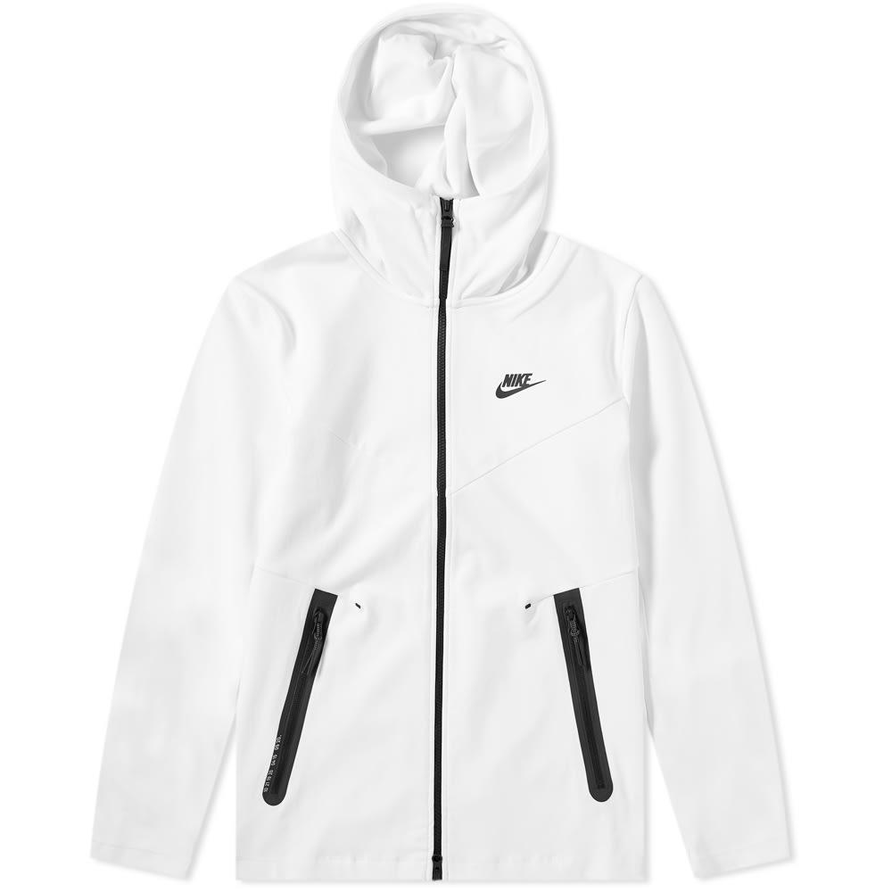 5c6ebc6e49b0c7 Nike Tech Pack Full Zip Hoody Summit White   Black
