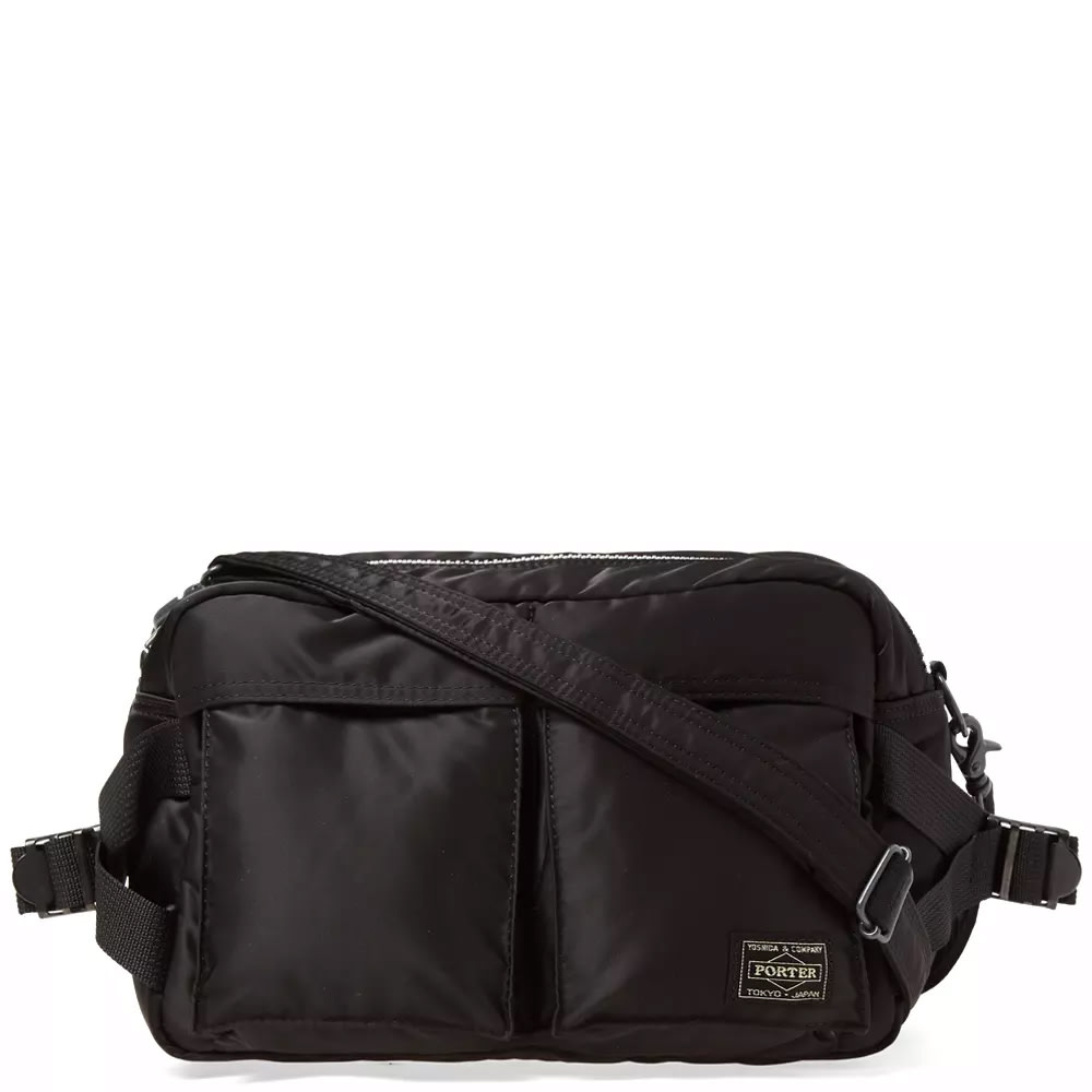 90aef295bb Porter-Yoshida & Co. Tanker 2 Way Waist Bag. Black