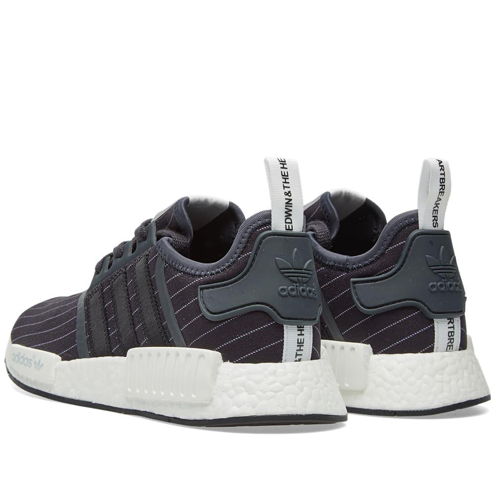 564ae2cf3 Adidas x Bedwin   The Heartbreakers NMD R1 Night Grey   Black