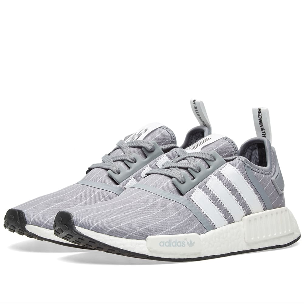 af56f1b76 Adidas x Bedwin   The Heartbreakers NMD R1 Grey   White