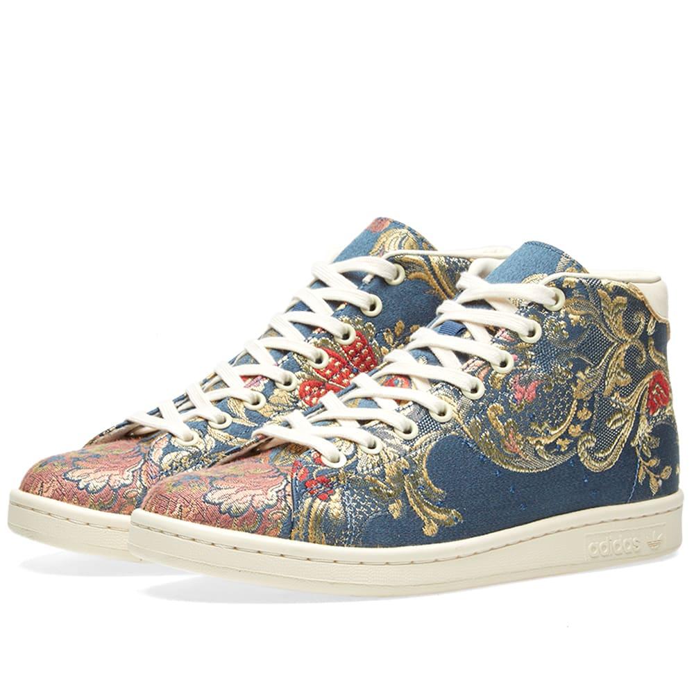 low priced a7b46 9e79a Adidas x Pharrell Williams Stan Smith Mid Jacquard