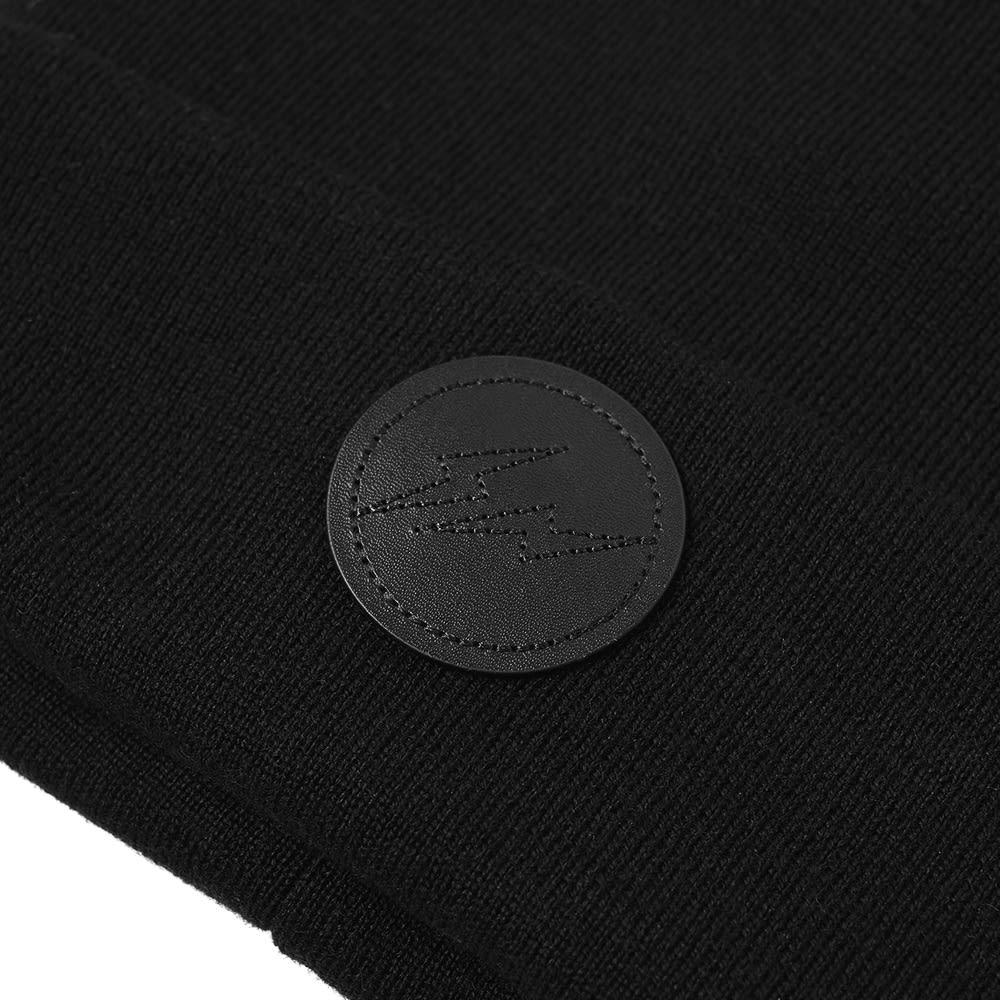 9c4f637a3a784 Moncler Genius - 7 Moncler Fragment Hiroshi Fujiwara - Tricot Beanie Black