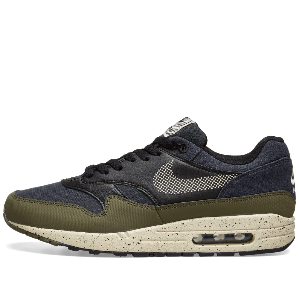 Nike Air Max 1 SE Olive, Cream & Black | END.