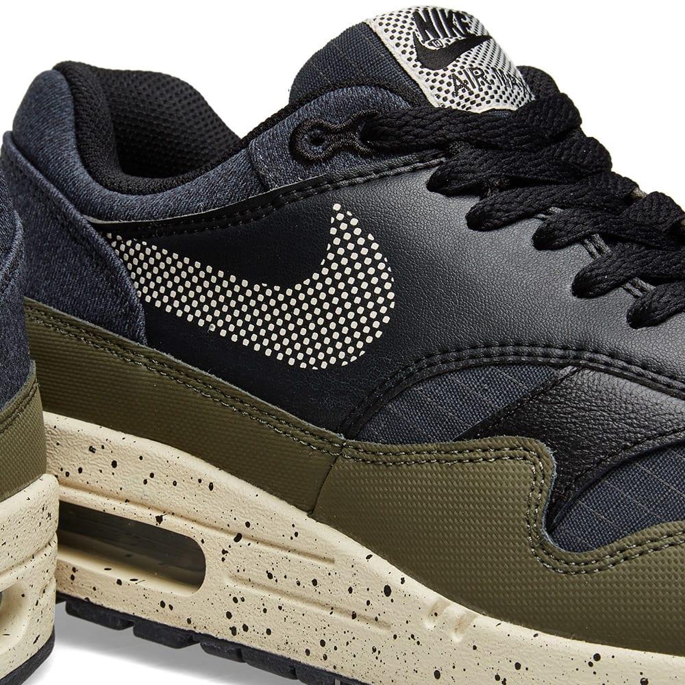 Nike Air Max 1 SE Olive, Cream & Black | END.