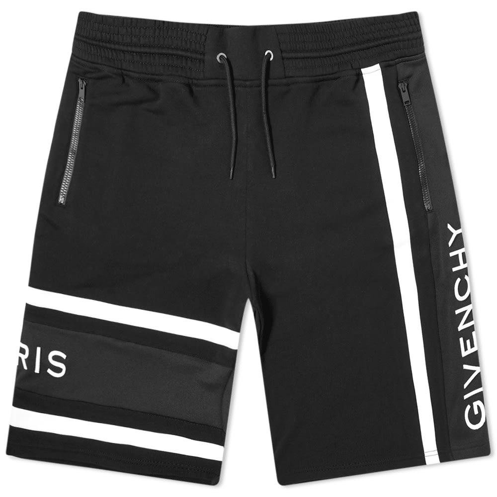 Givenchy Band Logo Sweat Shorts Black