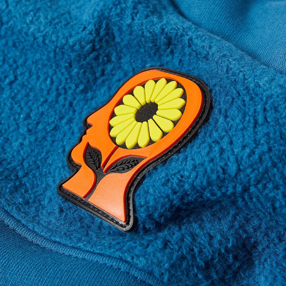 BRAIN DEAD Cottons Brain Dead Sunflower Panel Crew Sweat