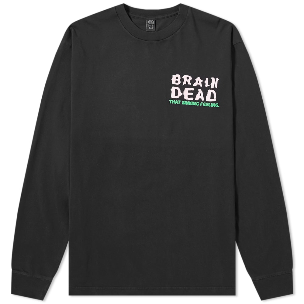 Brain Dead Brain Dead Long Sleeve Sinking Feeling Tee