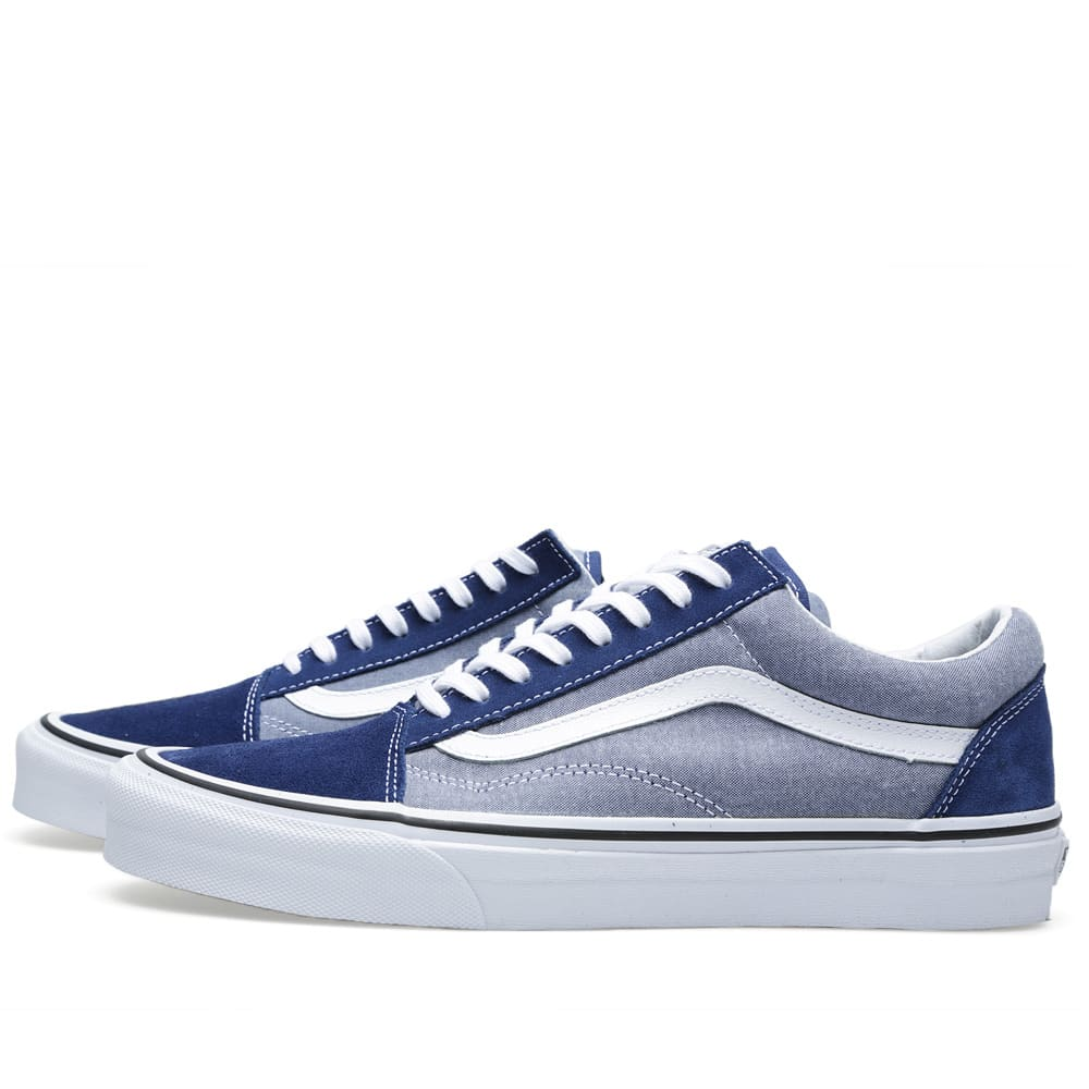 eb684d5df1 Vans Old Skool Suede   Chambray Estate Blue
