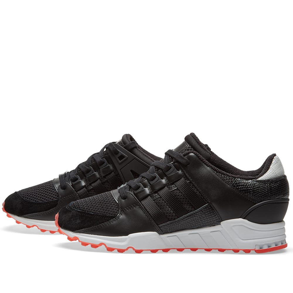 differently 9a248 f6631 Adidas EQT Support RF Core Black & Turbo | END.