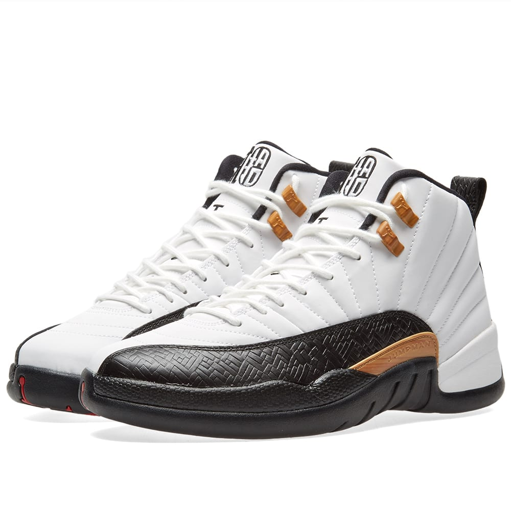 69965516078e Nike Air Jordan 12 CNY White
