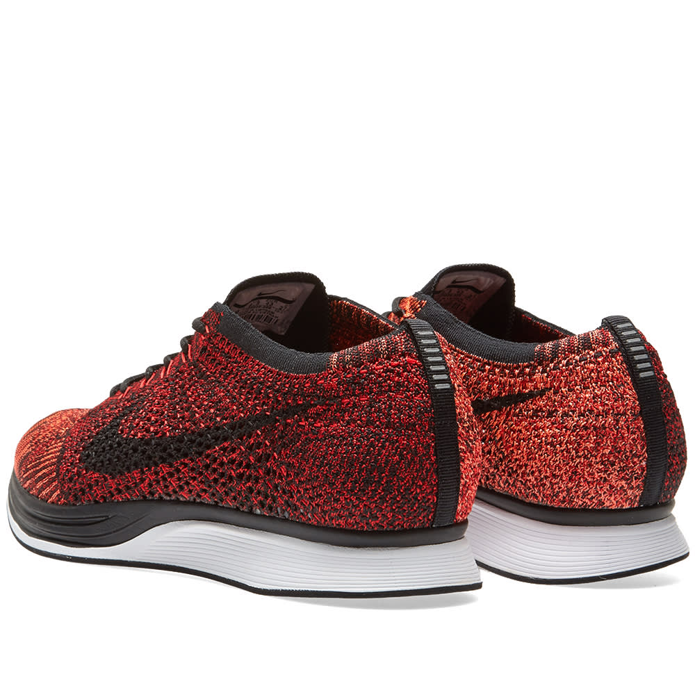 c6d6bc2c9ad87 Nike Flyknit Racer University Red   Black