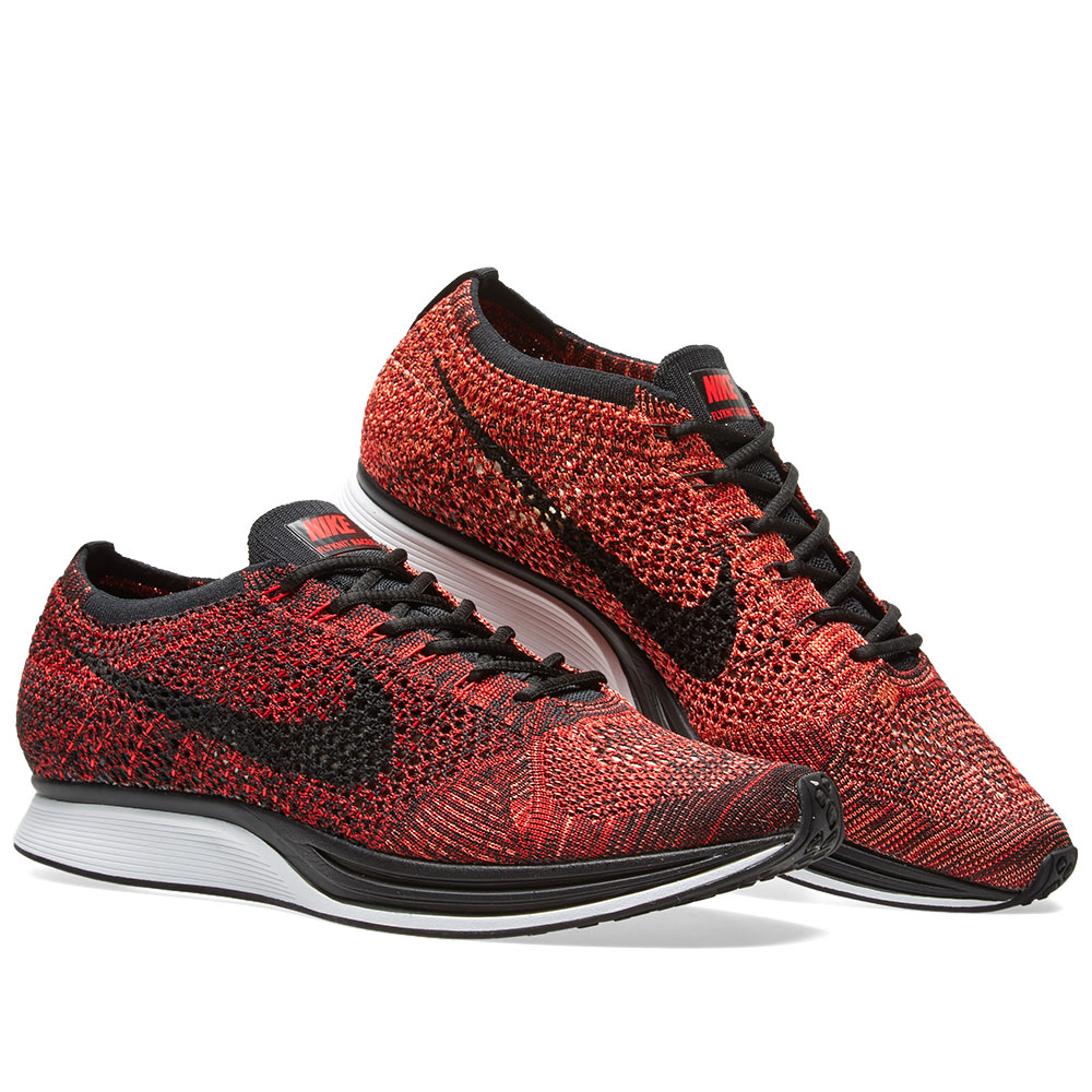 Nike Flyknit Racer (University Red u0026 Black)