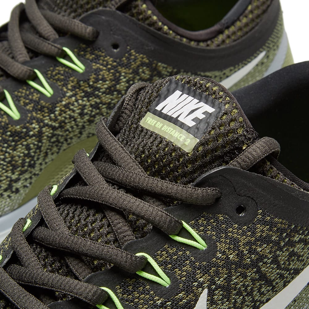 Nike Free Run Distance 2 Legion Green White End