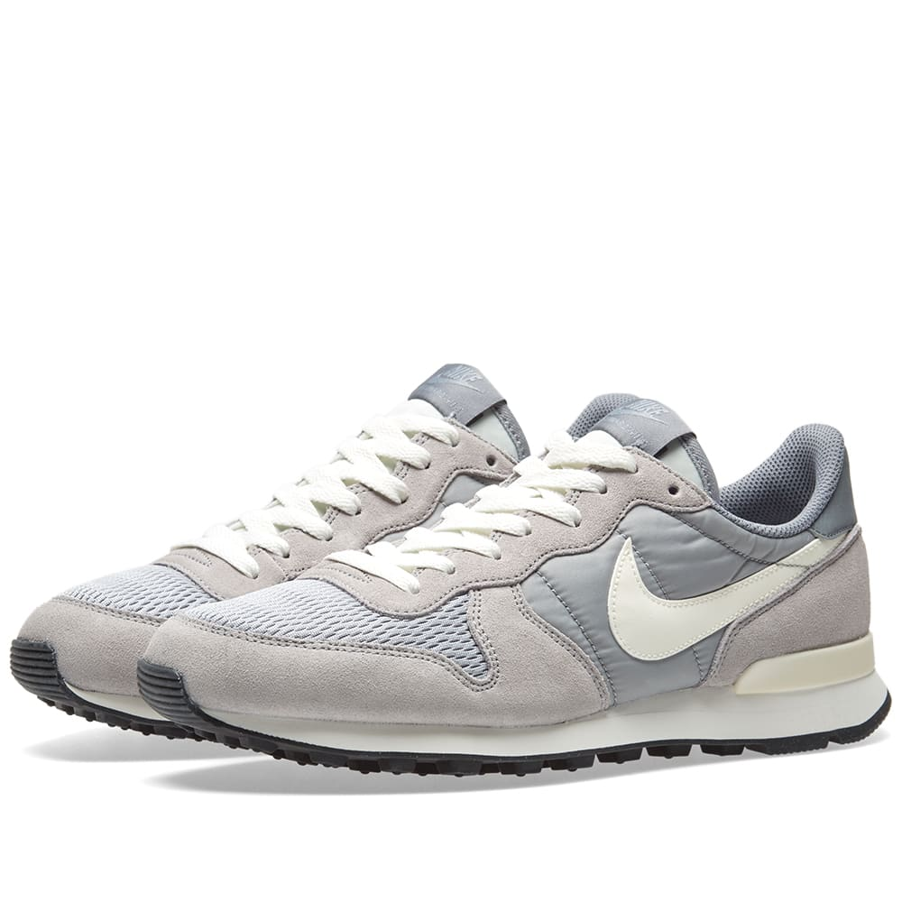 quality design 802b2 9b24b Nike Internationalist Wolf Grey & Sail | END.