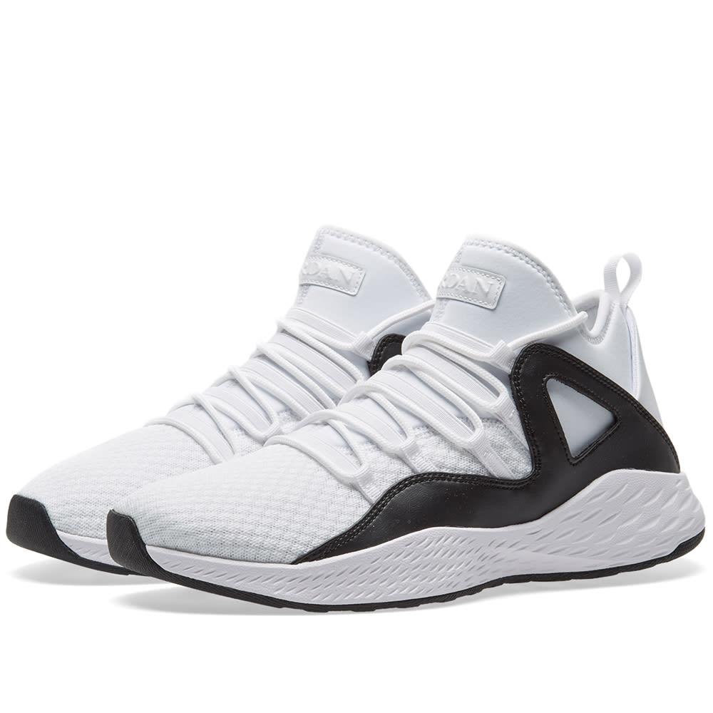 4ae0407cf66769 Nike Jordan Formula 23 White   Black