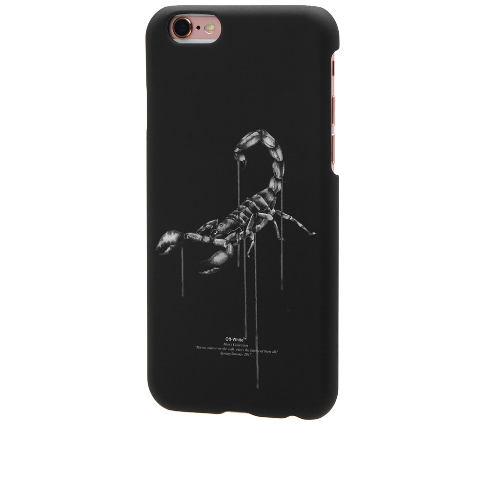 hot sale in stock pretty cool Off-White Othelo Scorpion IPhone 6 Case