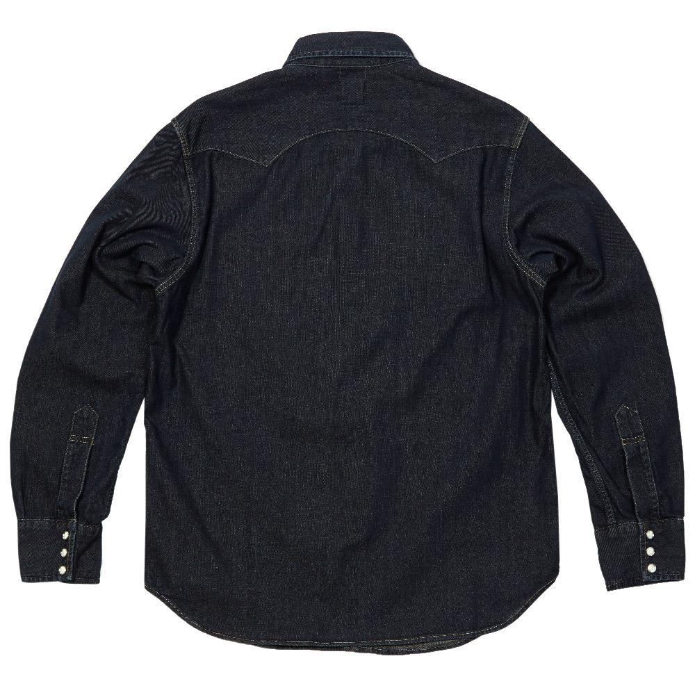 Levi 39 S Vintage 1955 Sawtooth Denim Shirt Rough Rinse