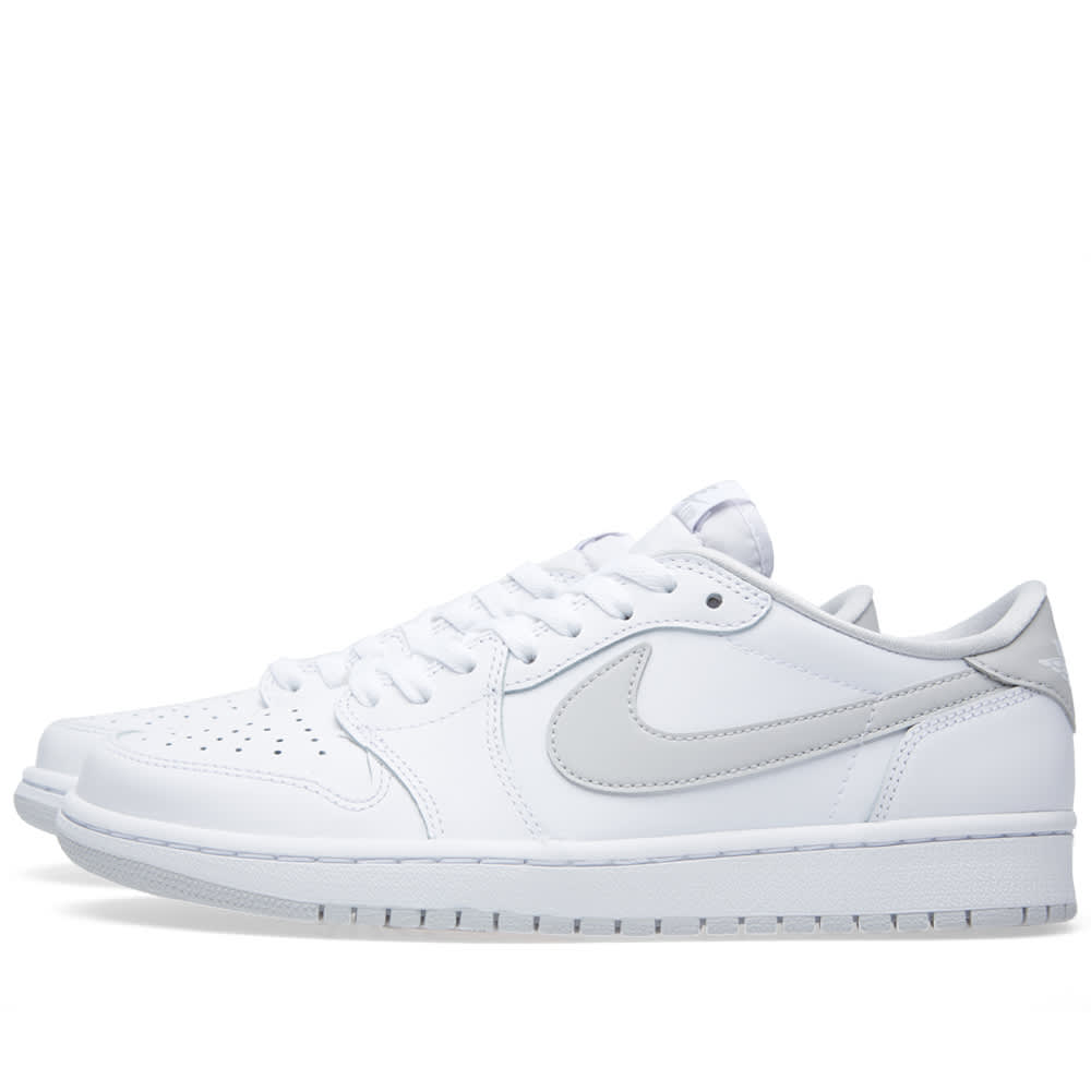 best service 6a340 a52db Nike Air Jordan 1 Retro Low OG White   Neutral Grey   END.