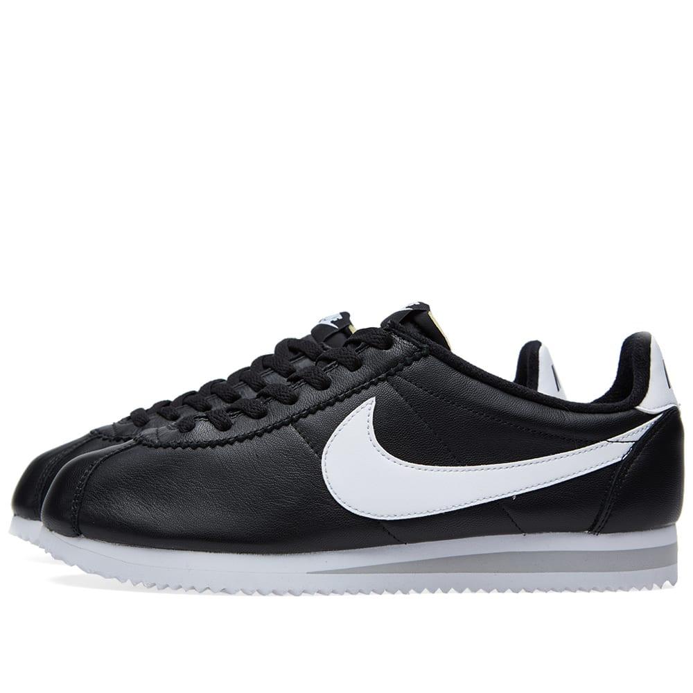 sports shoes 74d84 70451 Nike Classic Cortez Premium QS Black   White   END.