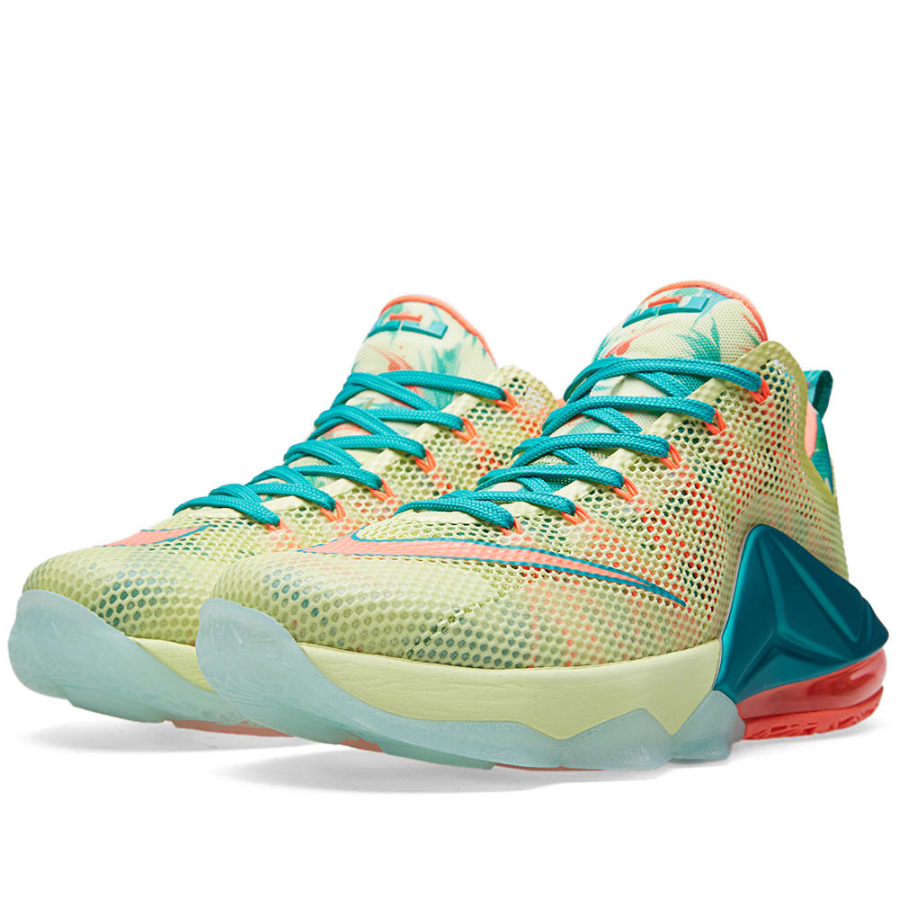 best sneakers 62ceb 6561b Nike LeBron XII Low Premium 'LeBronold Palmer'