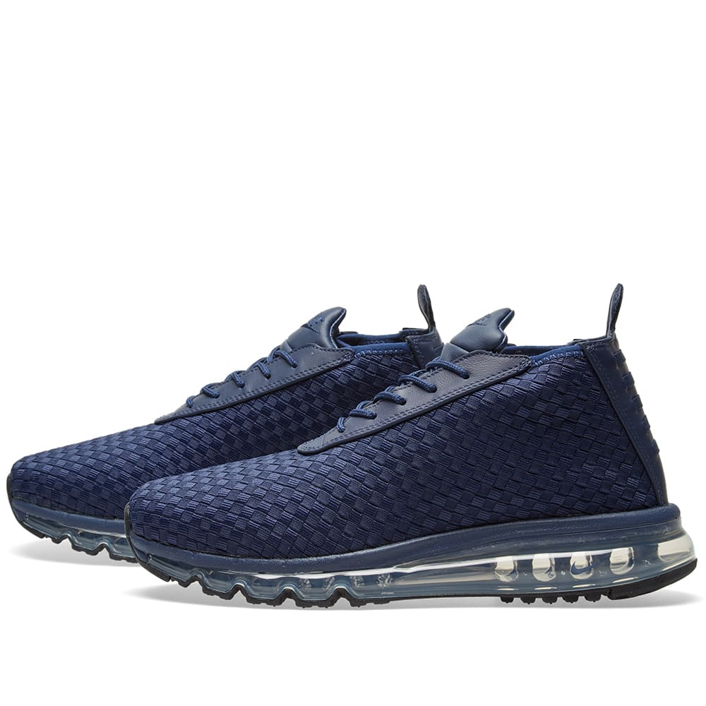 pretty nice 58db4 bf689 Nike Air Max Woven Boot Midnight Navy   END.