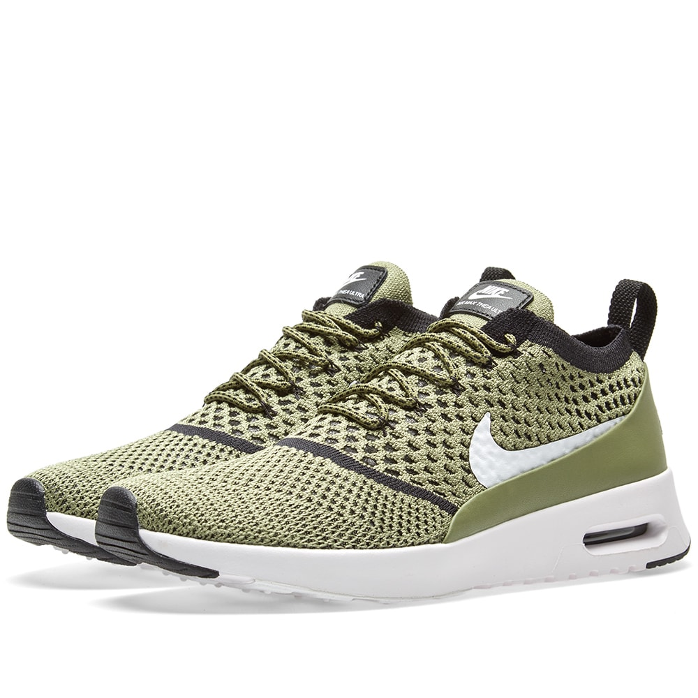 innovative design 299ea 6772d Nike W Air Max Thea Flyknit Palm Green, White   Black   END.
