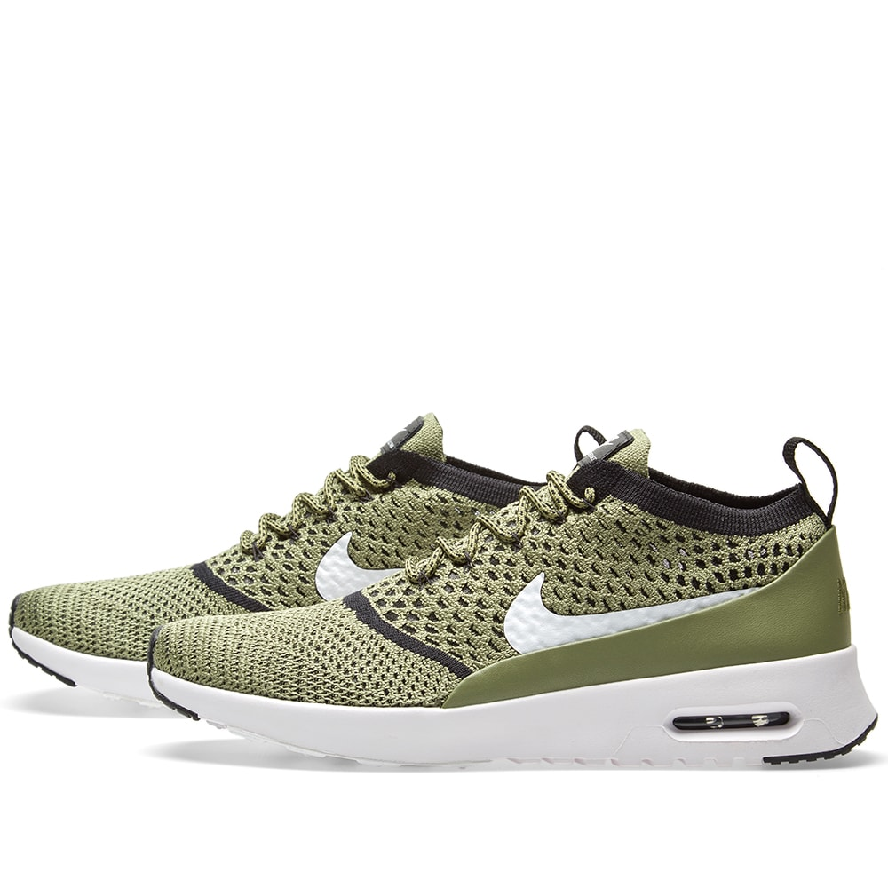 reputable site 0004e 8c712 Nike W Air Max Thea Flyknit Palm Green, White & Black | END.