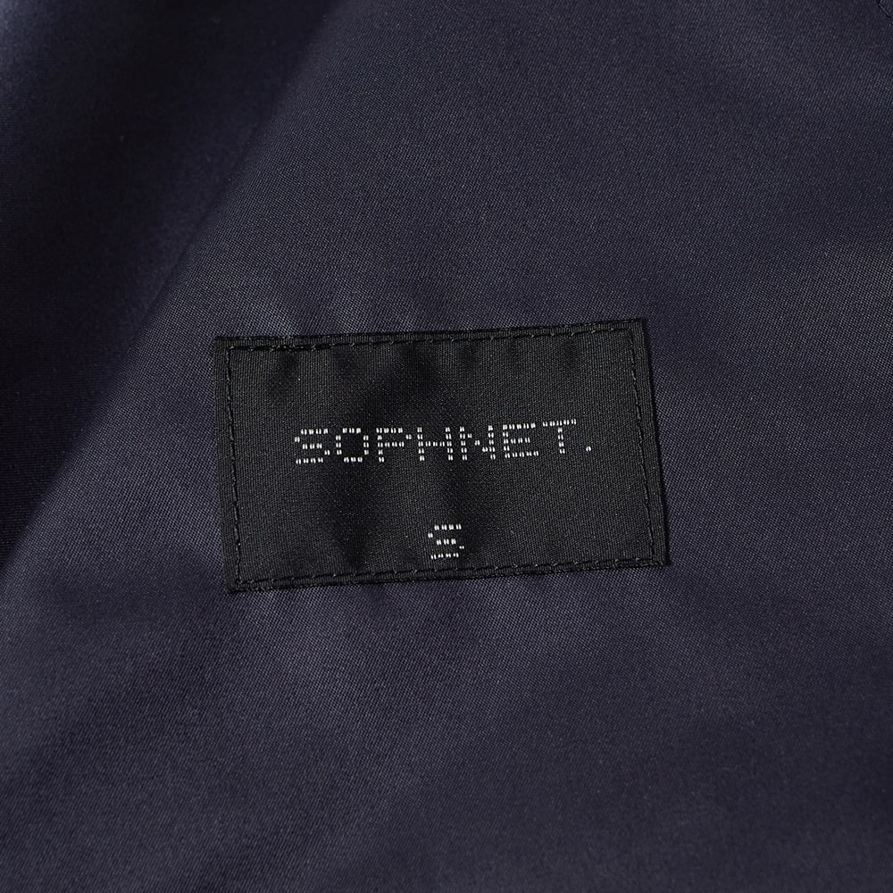SOPHNET. Chest Line Zip Up Anorak Navy