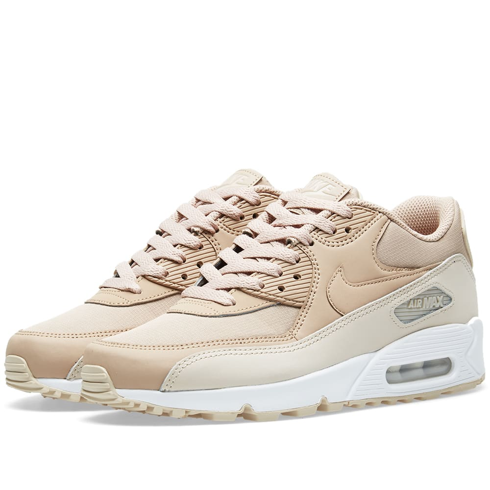 cheaper 0a7e7 37f94 Nike Air Max 90 Essential Desert Sand, Sand   White   END.