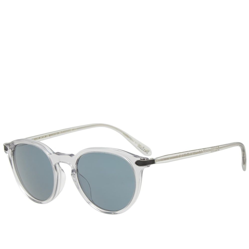 d16fccb7db961 Oliver Peoples x Berluti Rue Marbeuf Sunglasses Light Grey   Crystal Indigo