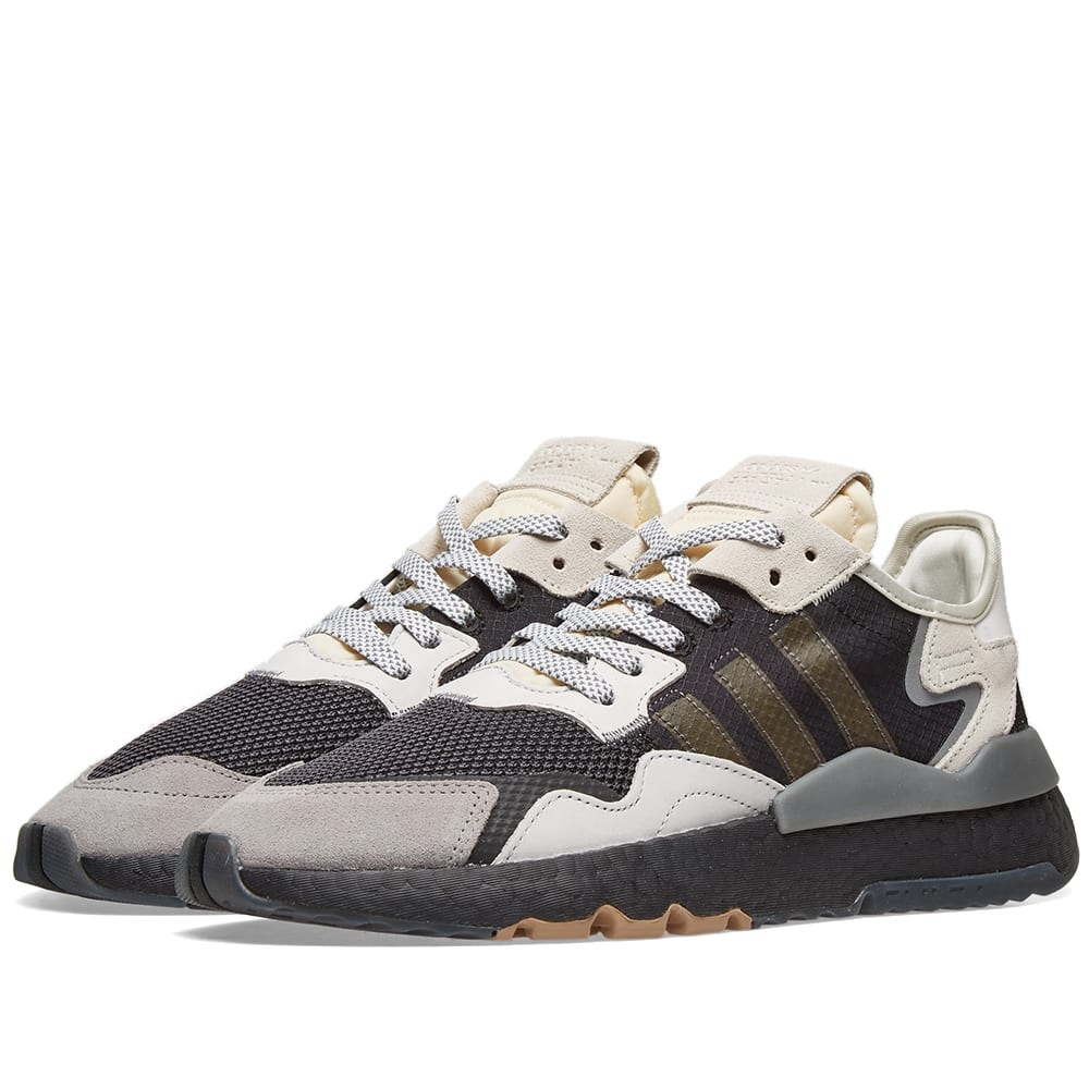 buy popular 61be3 039dc Adidas Nite Jogger Core Black   END.