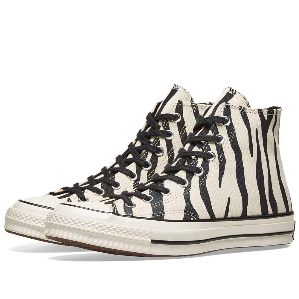 20ae4a524f07 Converse Chuck Taylor 1970s Hi Zebra Canvas Greige