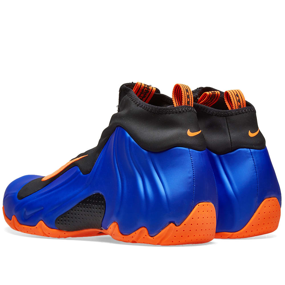 25d4c2dbc8c Nike Air Flightposite Racer Blue, Orange & Black   END.